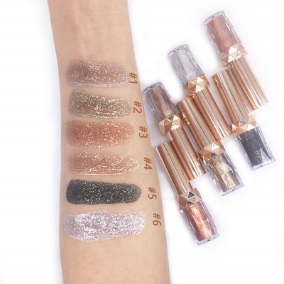6 Colors   Liquid Eyeshadow - showemakeup