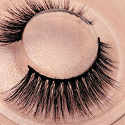False eyelashes gold box  (3D mink hair) - showemakeup