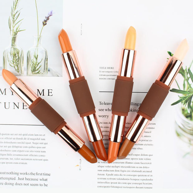 4 Color 2-End 3D Highlight Contour Stick - showemakeup