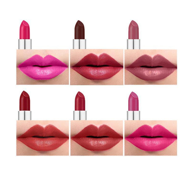 12 Colors Bullet Lipsticks - showemakeup