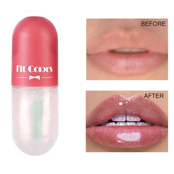 Crystal Jelly Lip Gloss Capsule Lip - showemakeup
