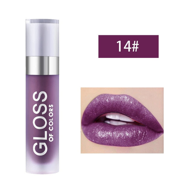 15 Colors Matt Lipstick - showemakeup