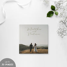 Load image into Gallery viewer, 30 Images Wedding Photobook