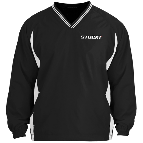 STUCK1 Pro Series Tipped V-Neck Windshirt