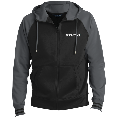 STUCK1 Pro Series Men's Sport-Wick® Full-Zip Hooded Jacket