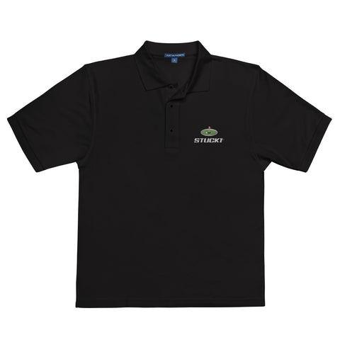 STUCK1 Player's Series Men's Premium Polo Golf Shirt