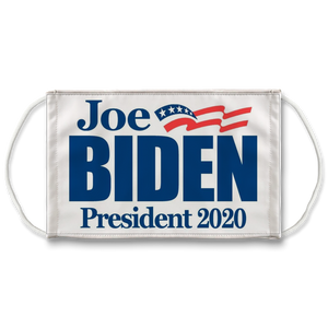 Joe Biden Face Mask. Reusable. PM2.5 Activated Carbon Filter.