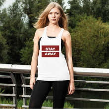 Load image into Gallery viewer, Stay Away Women's Loose Racerback Tank Top