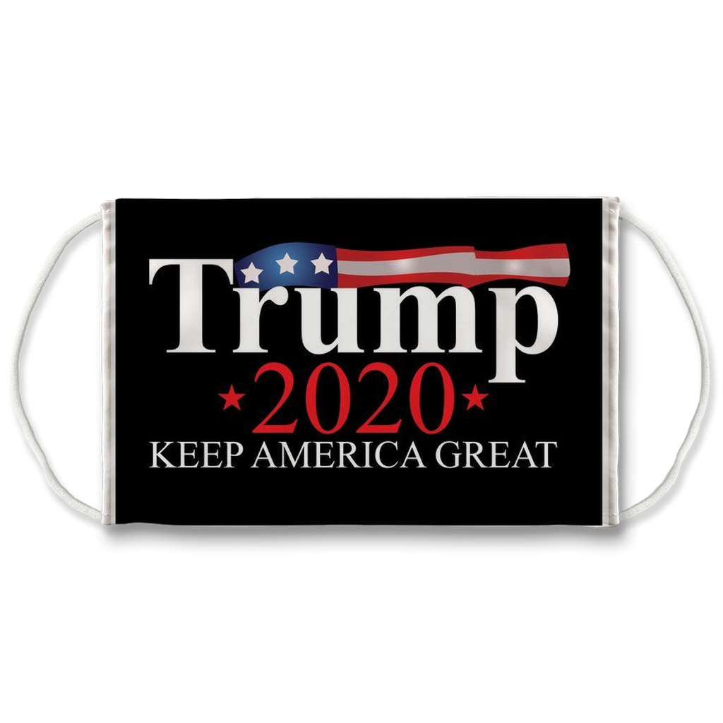 Trump 2020 Face Mask. Reusable. PM2.5 Activated Carbon Filter.