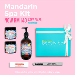 Mandarin Spa Kit
