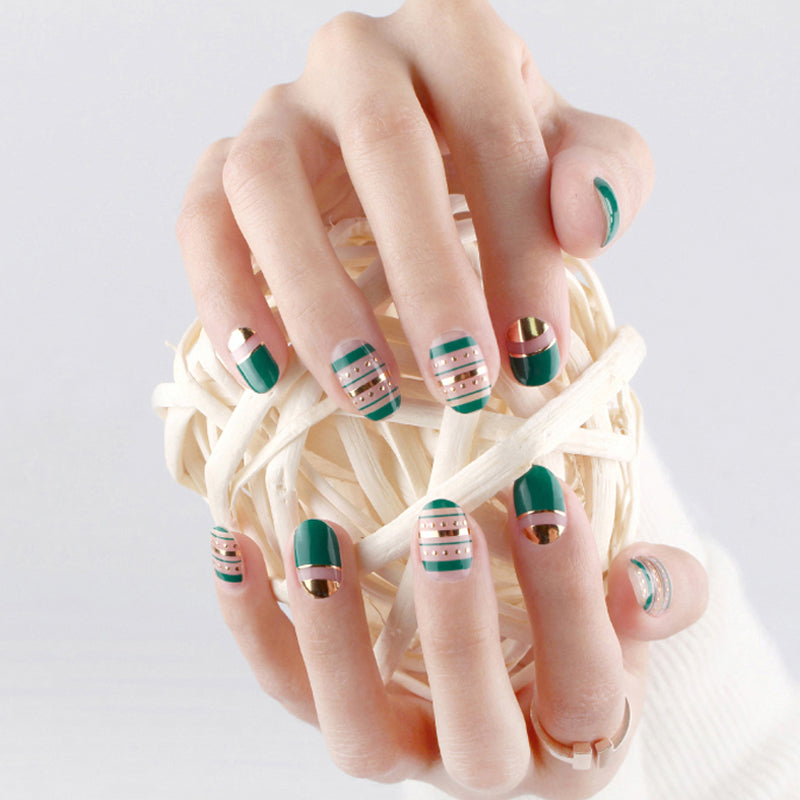 Korean Nail Gel Sticker - DESIGN 017