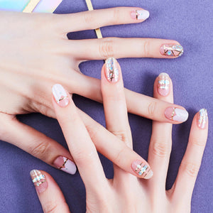 Korean Nail Gel Sticker - DESIGN 006
