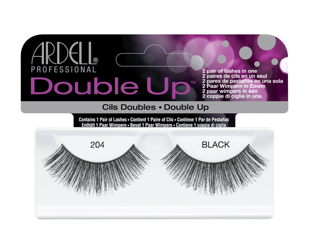 ardell eyelashes double up 204