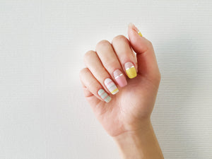 Korean Nail Gel Sticker - PASSET 012