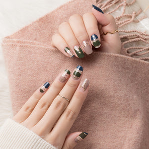 Korean Nail Gel Sticker - DESIGN 033