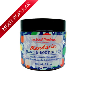 The Nail Parlour Mandarin Hand & Body Scrub