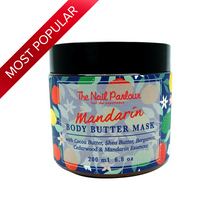 Load image into Gallery viewer, The Nail Parlour Mandarin Body Butter Mask