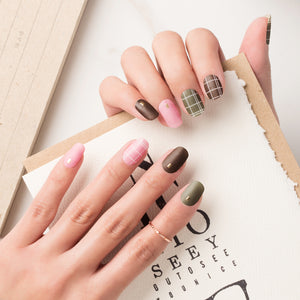 Korean Nail Gel Sticker - MATTE 003