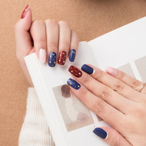 Korean Nail Gel Sticker - MATTE 009
