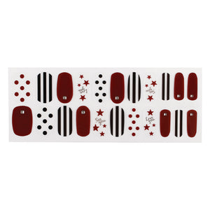 Korean Nail Gel Sticker - PASSET 024