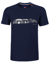 Load image into Gallery viewer, Bugatti Evolution T-Shirt Navy