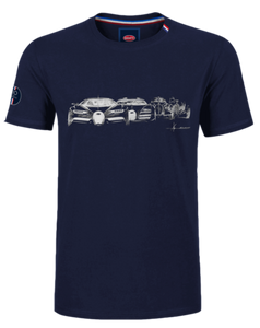 Bugatti Evolution T-Shirt Navy