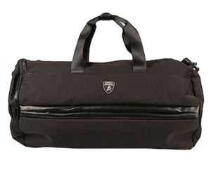 Automobili Lamborghini Travel Duffel Bag Black