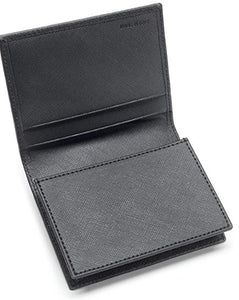 Automobili Lamborghini Black Leather Wallet
