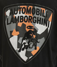 Load image into Gallery viewer, Automobili Lamborghini Camouflage Shield T-Shirt