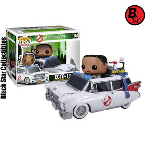 Winston Zeddmore and Ecto 1  Pop Rides