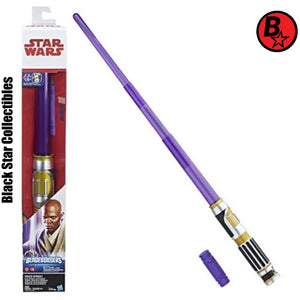 Star Wars: The Last Jedi Mace Windu Electronic Lightsaber