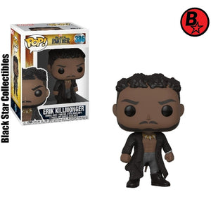 Erik Killmonger Black Panther  Pop! Vinyl Figure