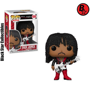 Rick James Pop! Vinyl Figure