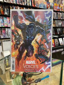 MARVELS VOICES LEGACY #1 LASHLEY VARIANT