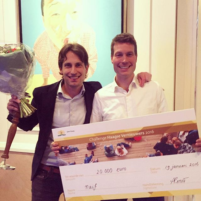 Naïf wins The Hague Innovator Award with new Protecting Sunscreen