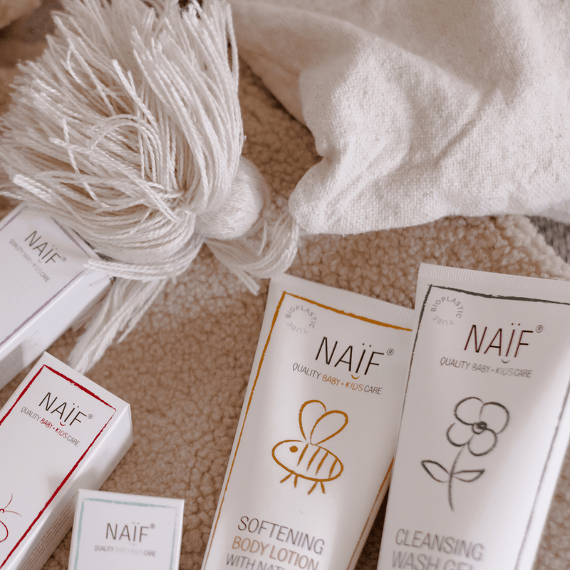 Naïf tubes are now made of bioplastic!