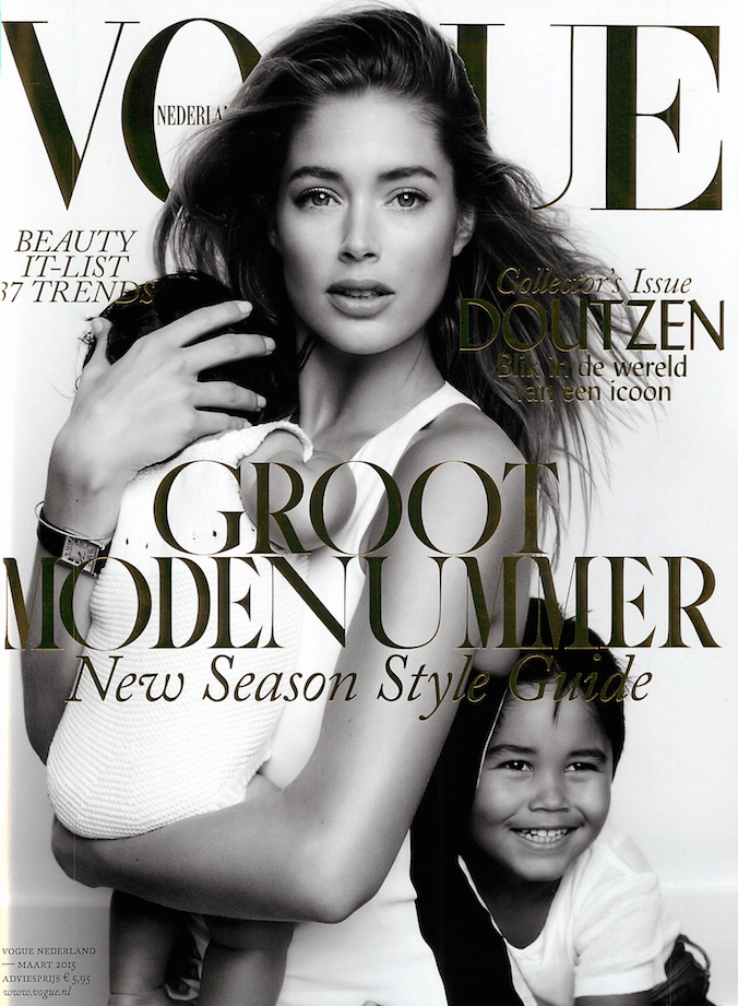 Cover Doutzen Kroes Vogue