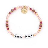 Little Words Project - Double Pink Bead/Crystal