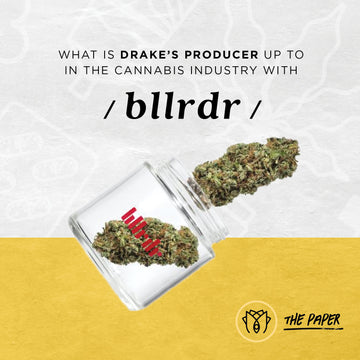 What is Drake's Producer up to in the Cannabis Industry with BLLRDR?