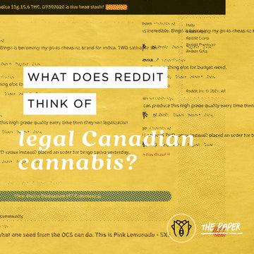 What Does Reddit Think of Legal Canadian Cannabis ?