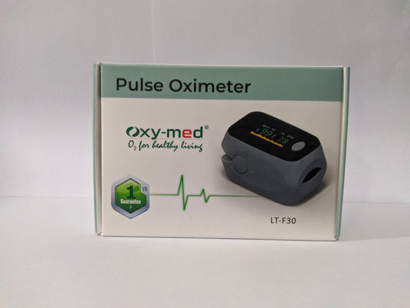 Oxy-Med Pulse Oximeter (Oxymeter) LT-F30