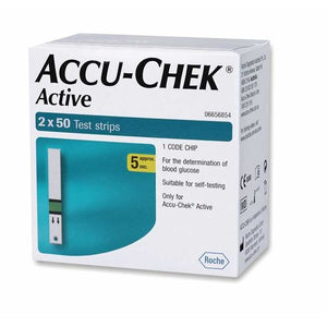 Accu-Chek Active Strips Pack of 100