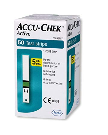Accu-Chek Active Strips Pack of 50