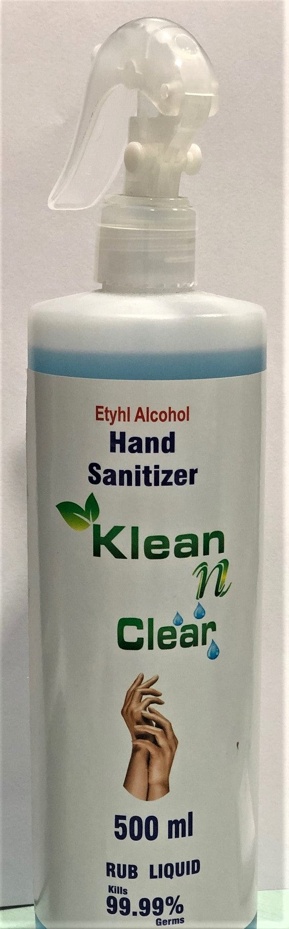 Klean n Clear Hand Sanitizer 500ml
