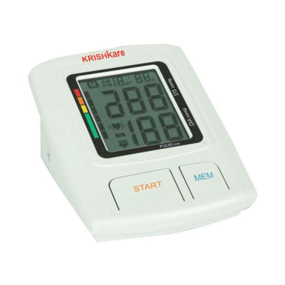 KrishKare Blood Pressure Monitor With Memory
