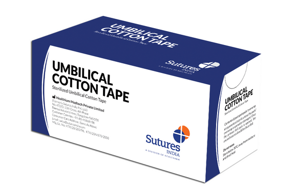 Sterilized Umbilical Cotton Tape - (Pack of 12)