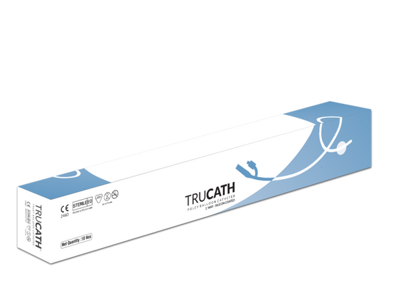 Trucath-2 Way Foley Balloon Catheter - (Pack of 10)