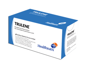 Trulene Non-Absorbable Polypropylene Sutures (SN) - (Pack of 12)