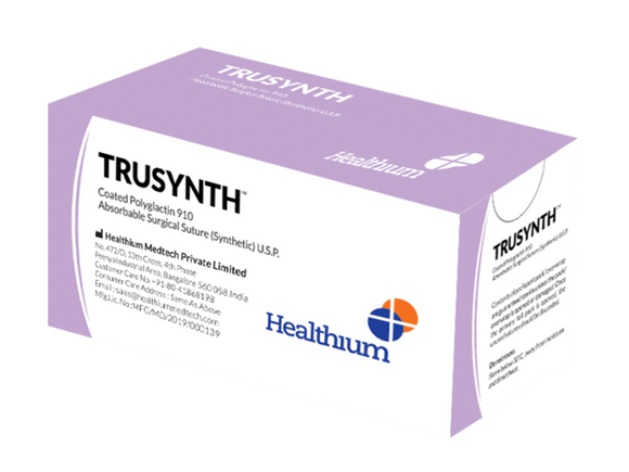 Trusynth (Regular, Fast, Plus NEO, US) Surgical Sutures (TS) - (Pack of 12)