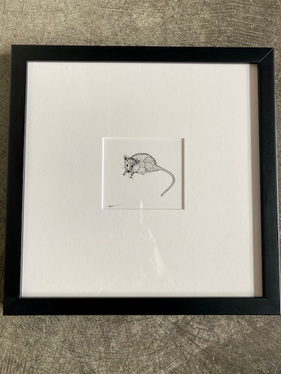 Jason Fricke- Baby Rat I, NYC